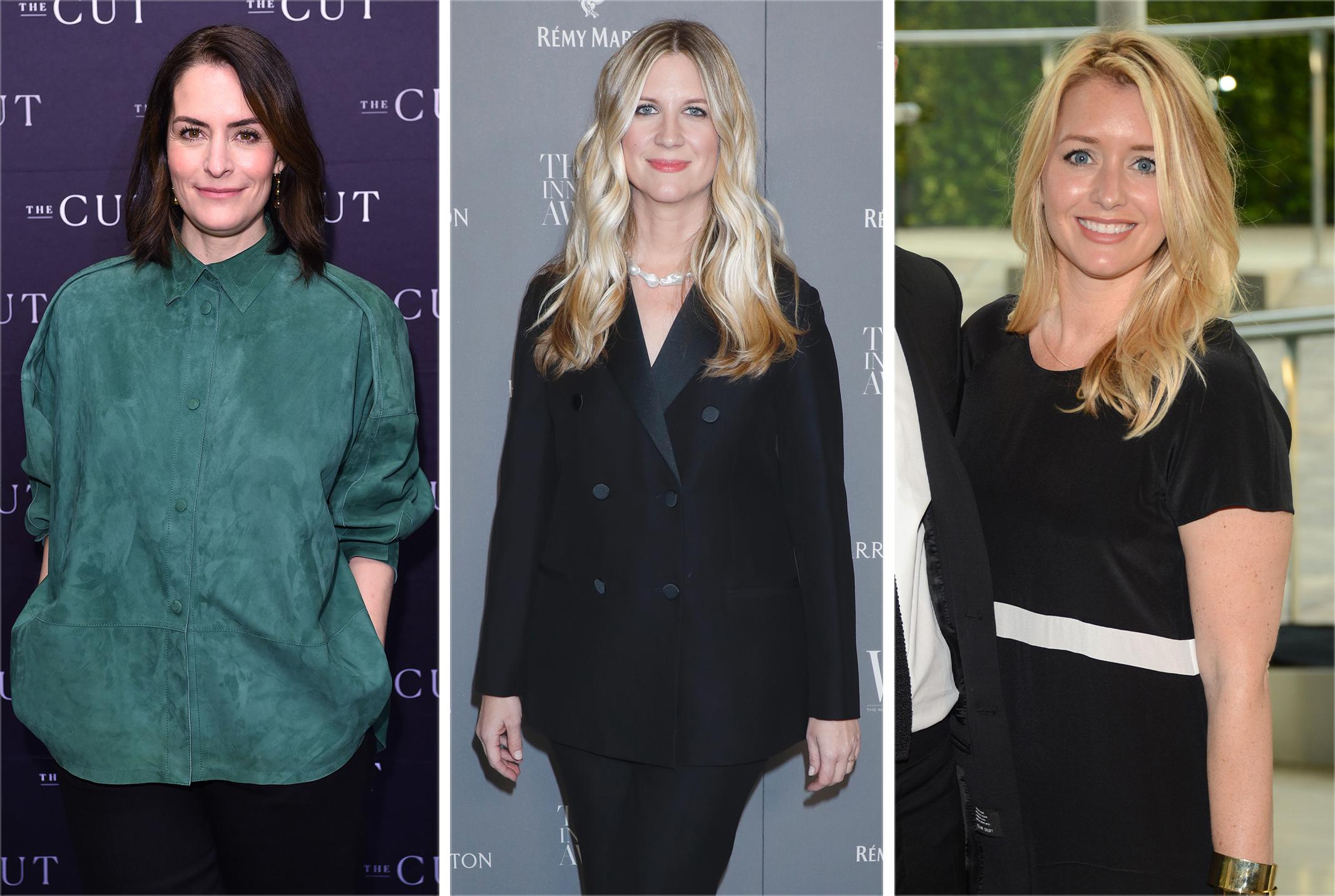 Stella Bugbee, Kristina O'Neill and Joyann King.