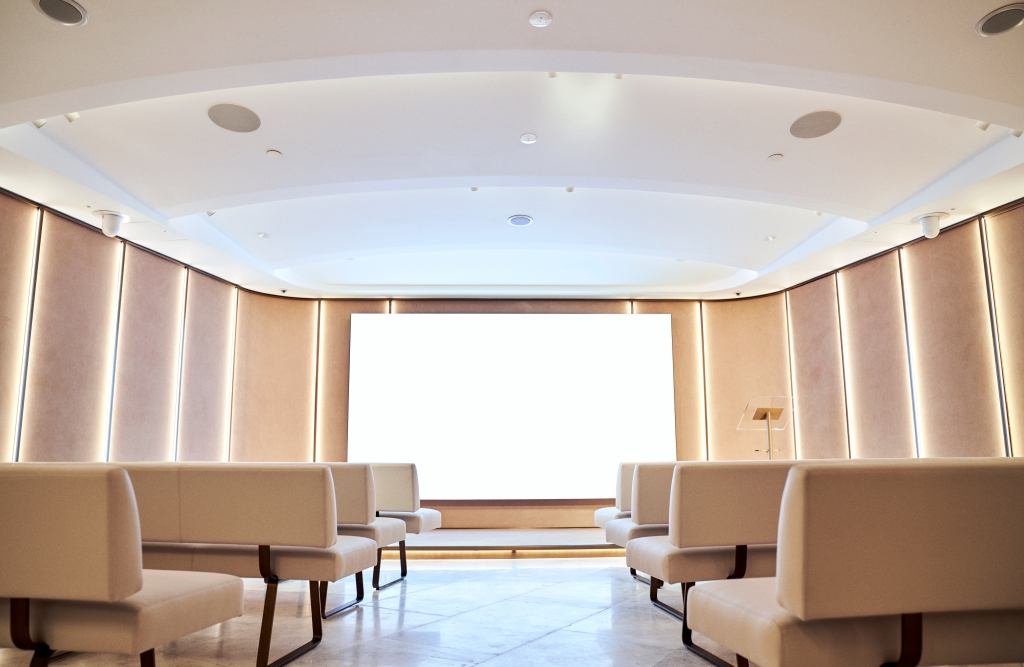 Harrods Beauty Events and Services Masterclass Auditorium