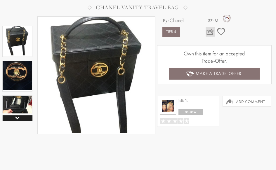 HauteTrader Chanel