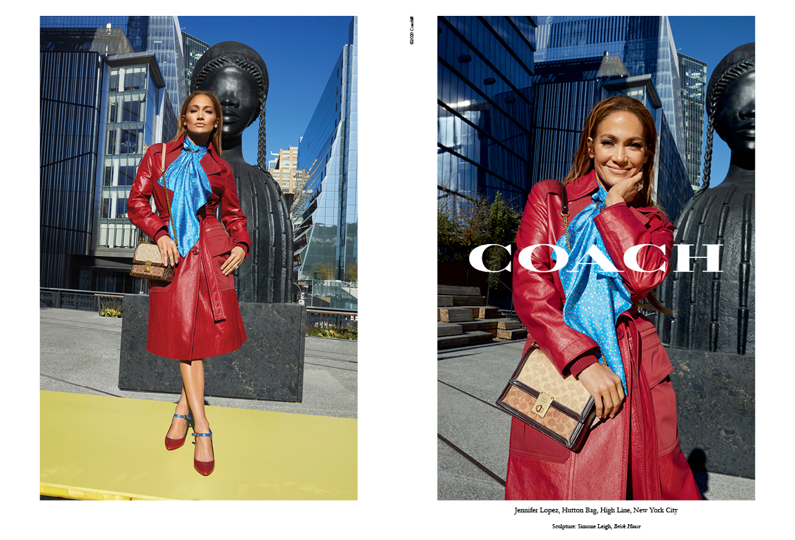 JLo in Coach ads