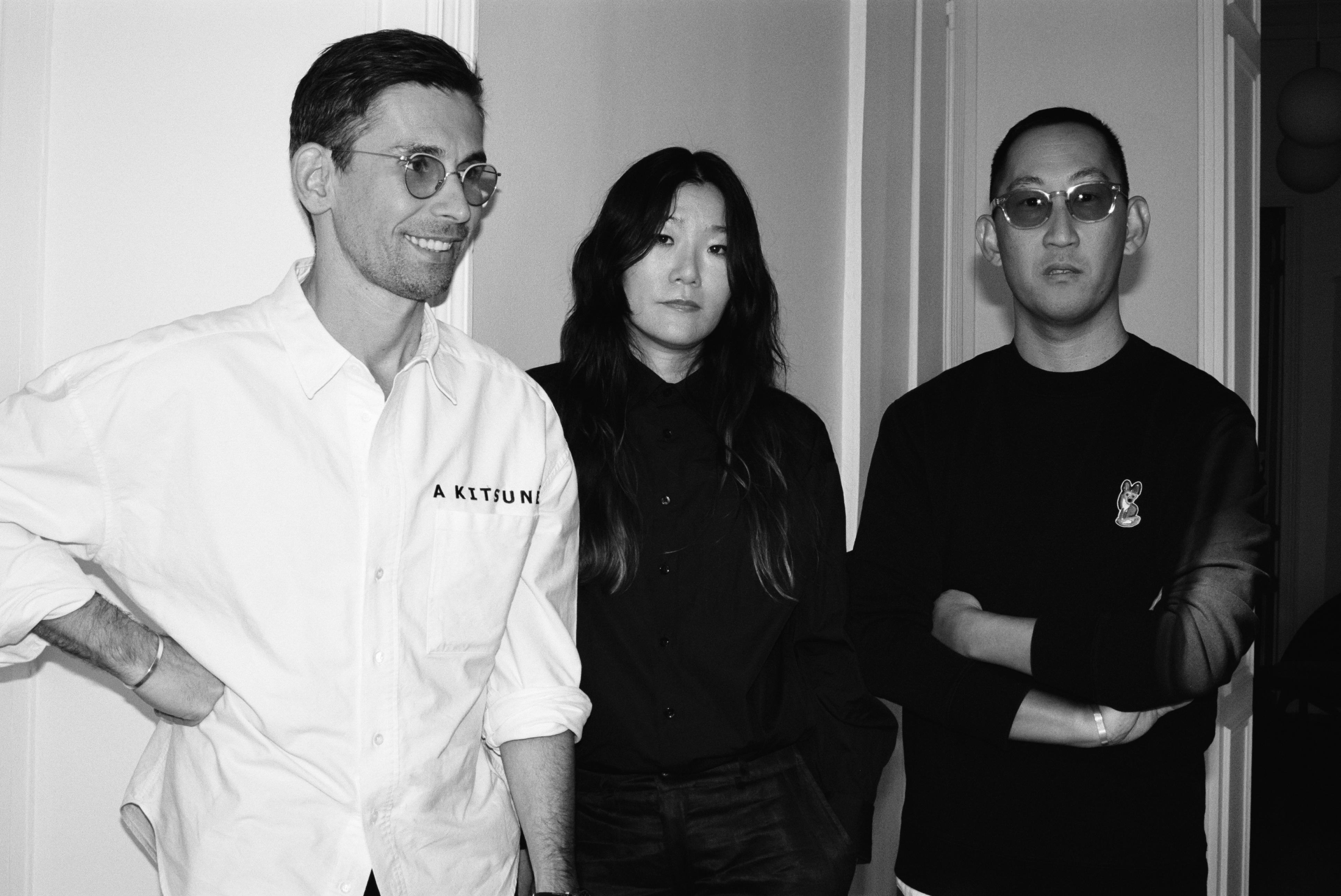 Gildas Loaëc, Yuni Ahn and Masaya Kuroki.