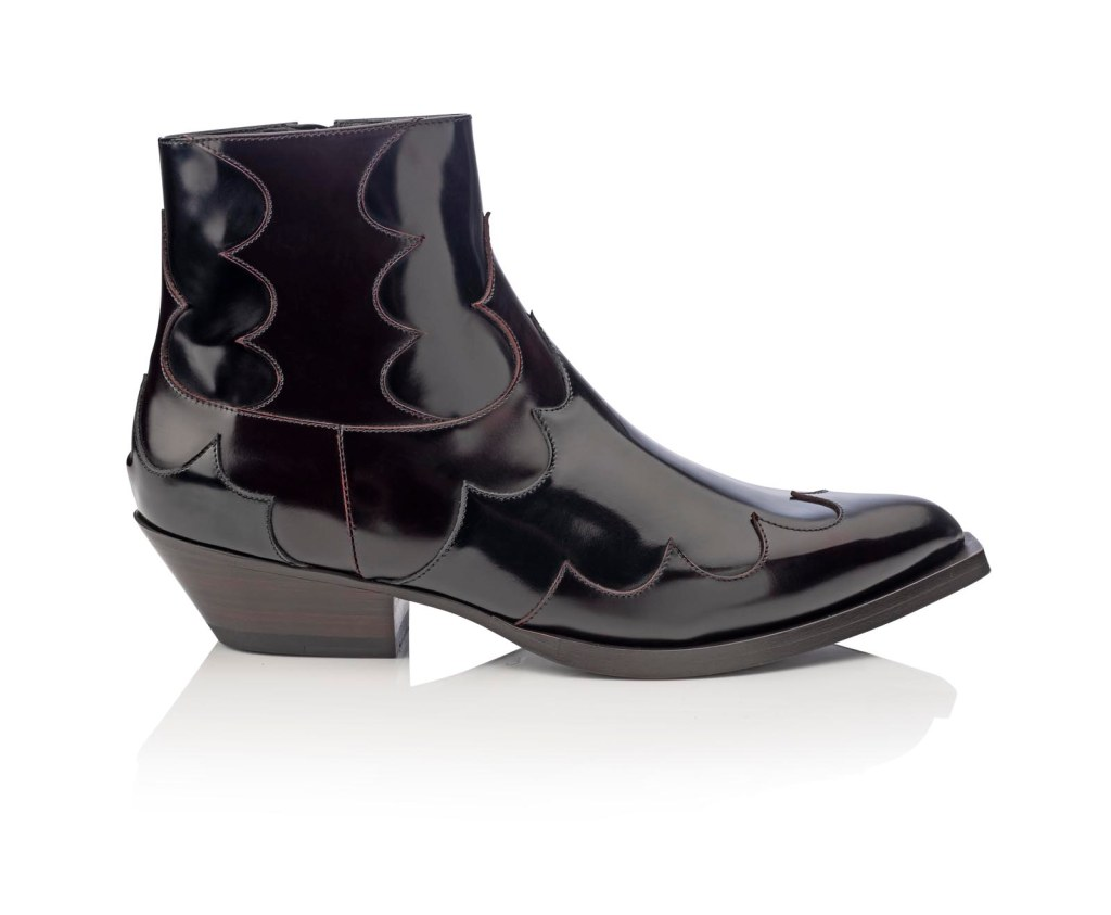 A boot from the Jimmy Choo's Men's Fall 2020 collection.