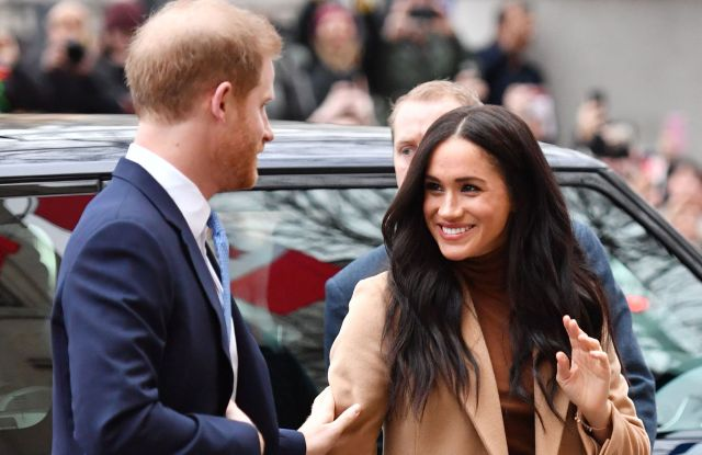 The Duke and Duchess of Sussex Make First Royal Appearance of 2020