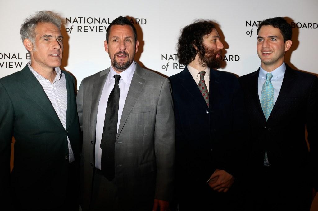 Ronald Bronstein, Adam Sandler, Joshua Safdie and Ben Safdie