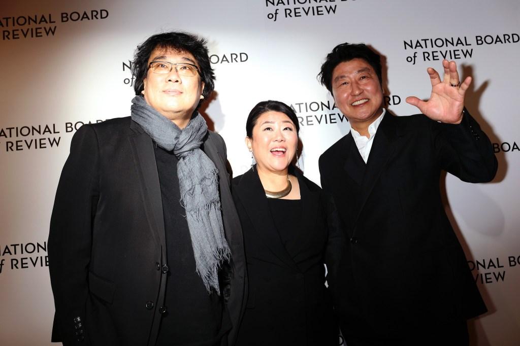 Bong Joon-Ho, Jeong-eun Lee and and Kang-ho Song