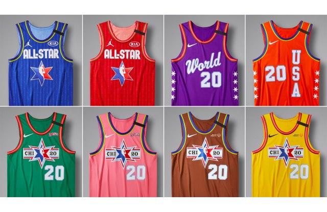 NBA All-Star Uniforms