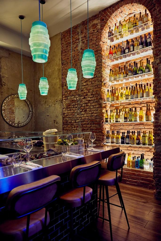Oyster Bar in Milan.
