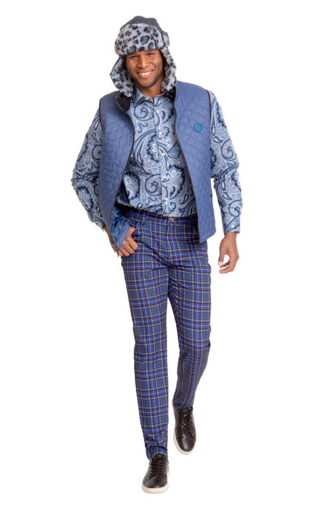 A look from the Nick Graham re.fresh collection.