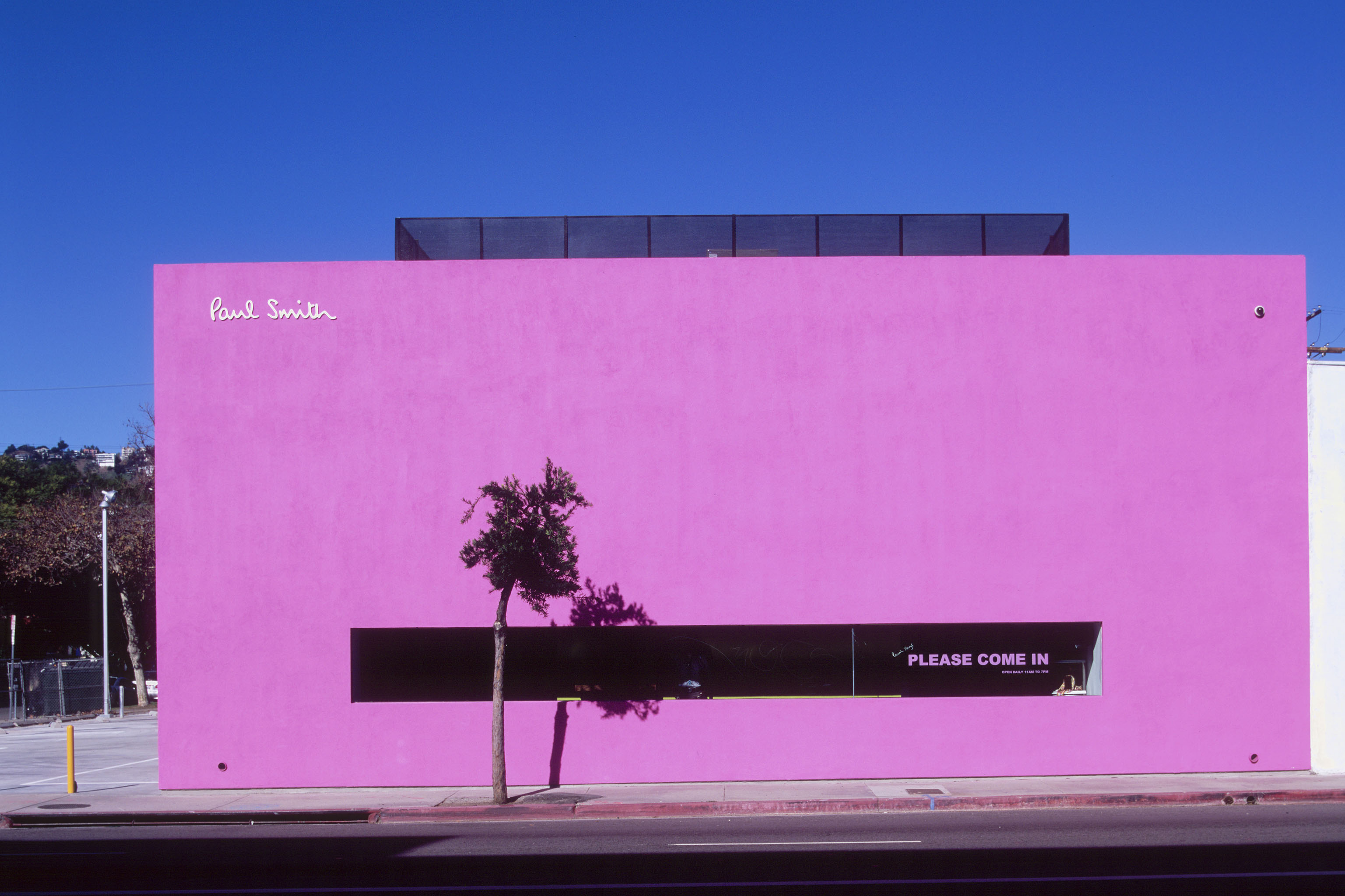 The Paul Smith store in Los Angeles.
