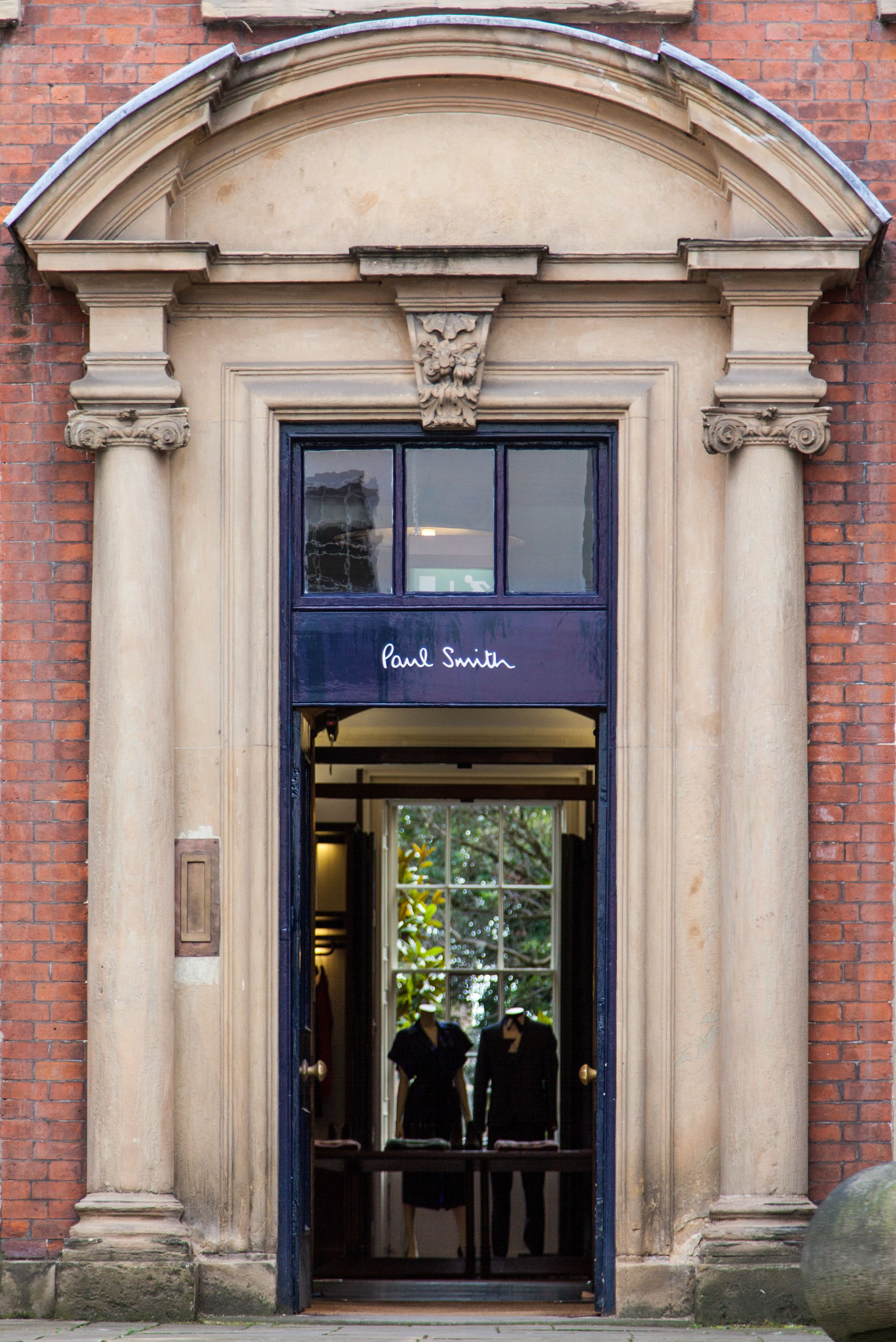 The Paul Smith store in Nottingham.
