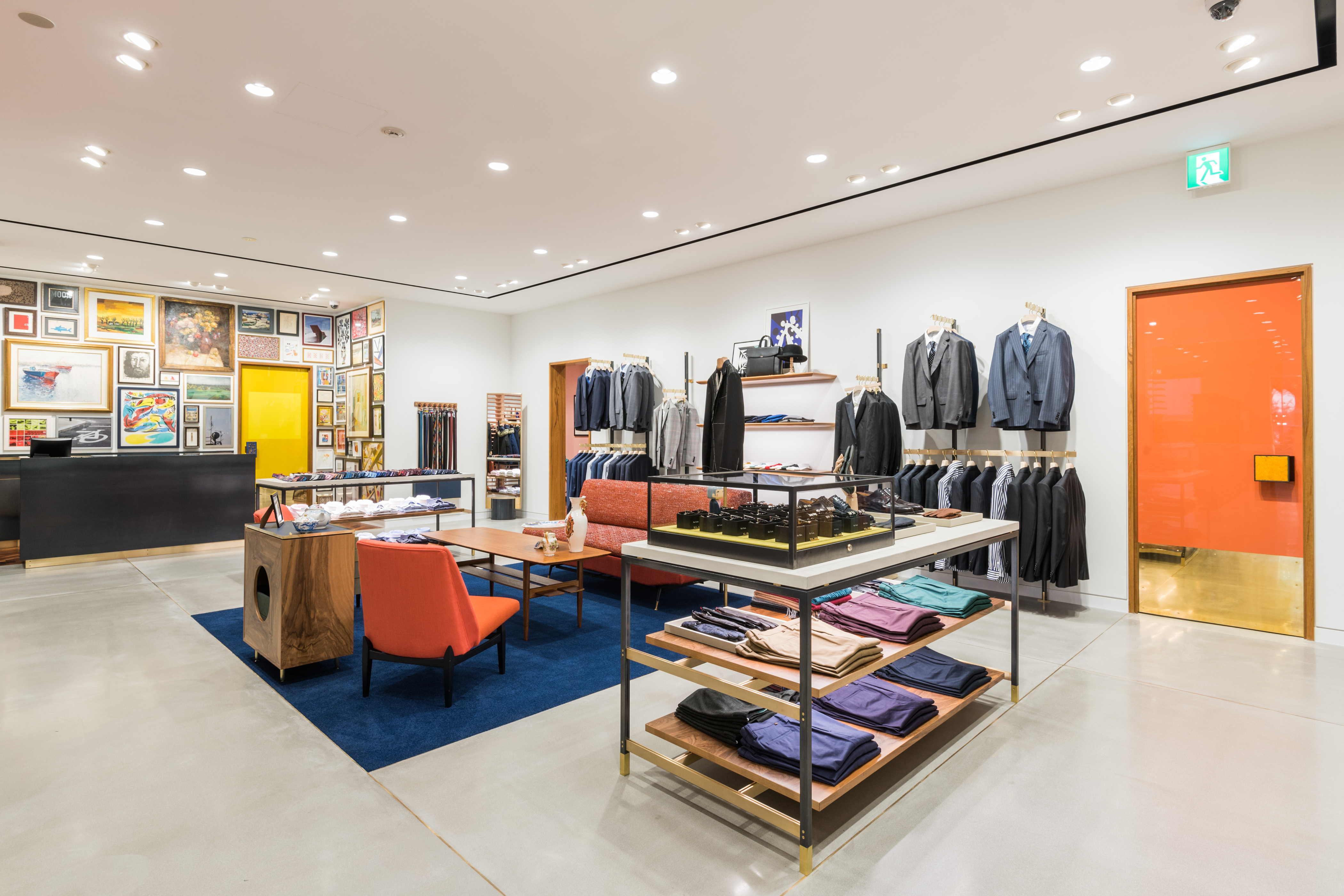 The Paul Smith store in Japan.