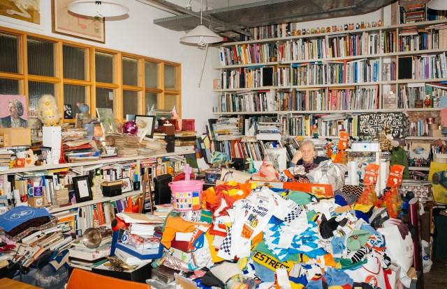 Paul Smith in his studio in London.