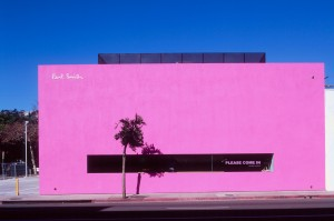The Paul Smith store on Melrose Ave. in Los Angeles opened in 2005.