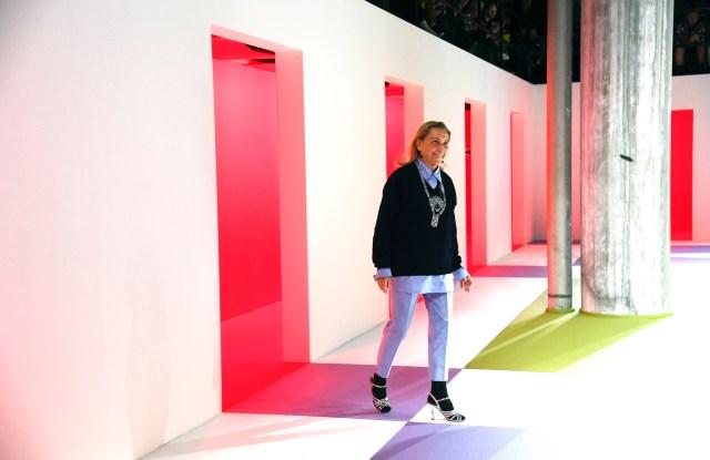 Miuccia Prada, Prada Men's Fall 2020 show, Milan Fashion Week