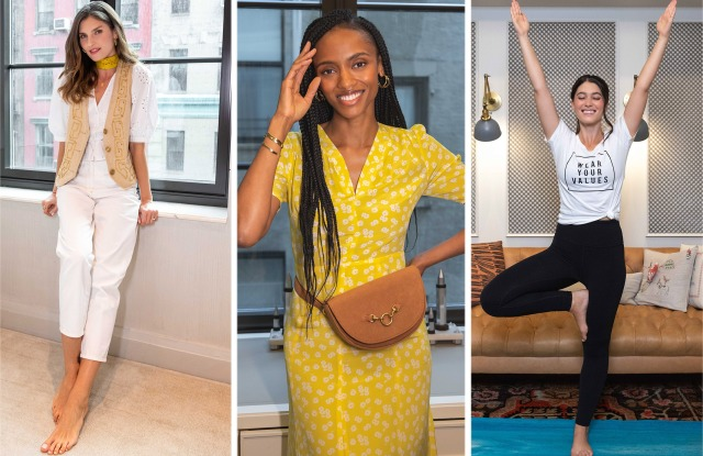 """Images from Remake's """"10 Ways To Dress Like A Sustainable Fashion Pro."""""""