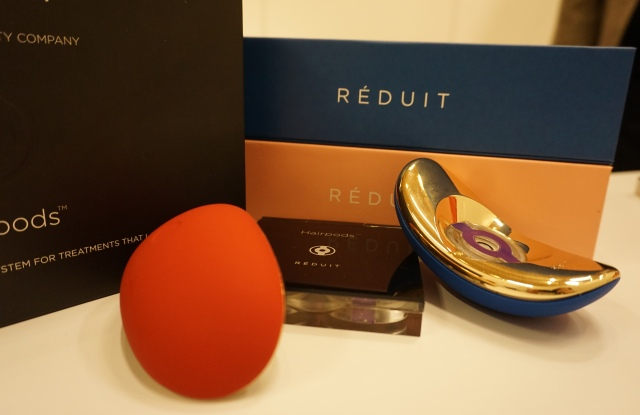 Paul Peros took to CES to introduce his new company, Réduit, and its first product — a high tech hair-care delivery system.