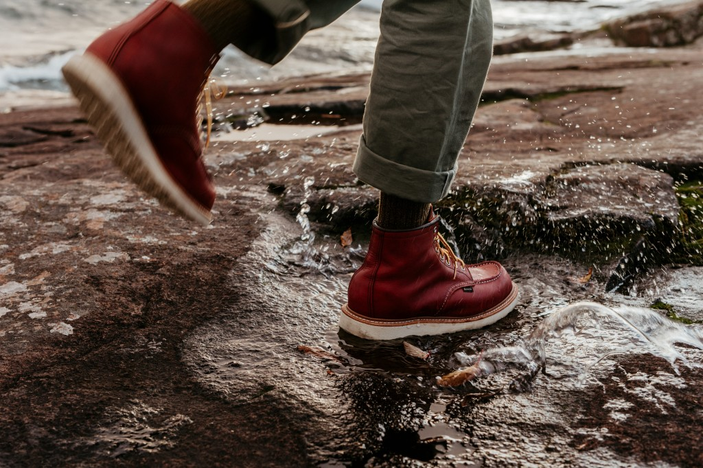 The Red Wing Heritage Gore-Tex boot.