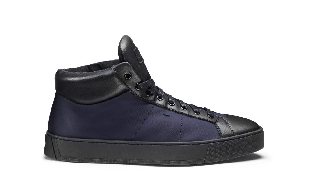 The Santoni Rethink sneaker debuted for Fall 2020.