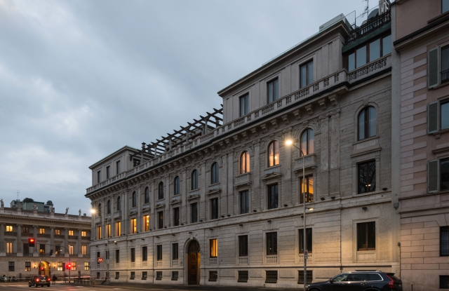 Milan's Palazzo Bernasconi will house the new Cipriani project