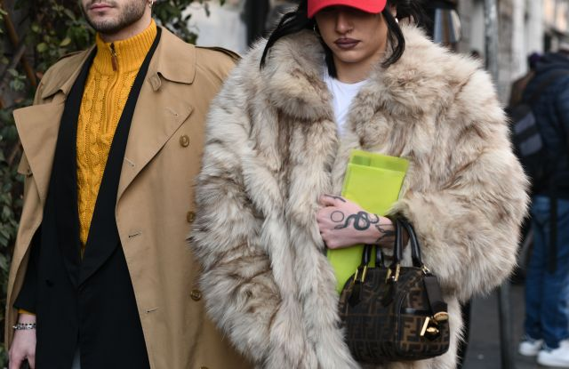 Street style outfitsStreet Style, Fall Winter 2019, Milan Fashion Week, Italy - 20 Feb 2019