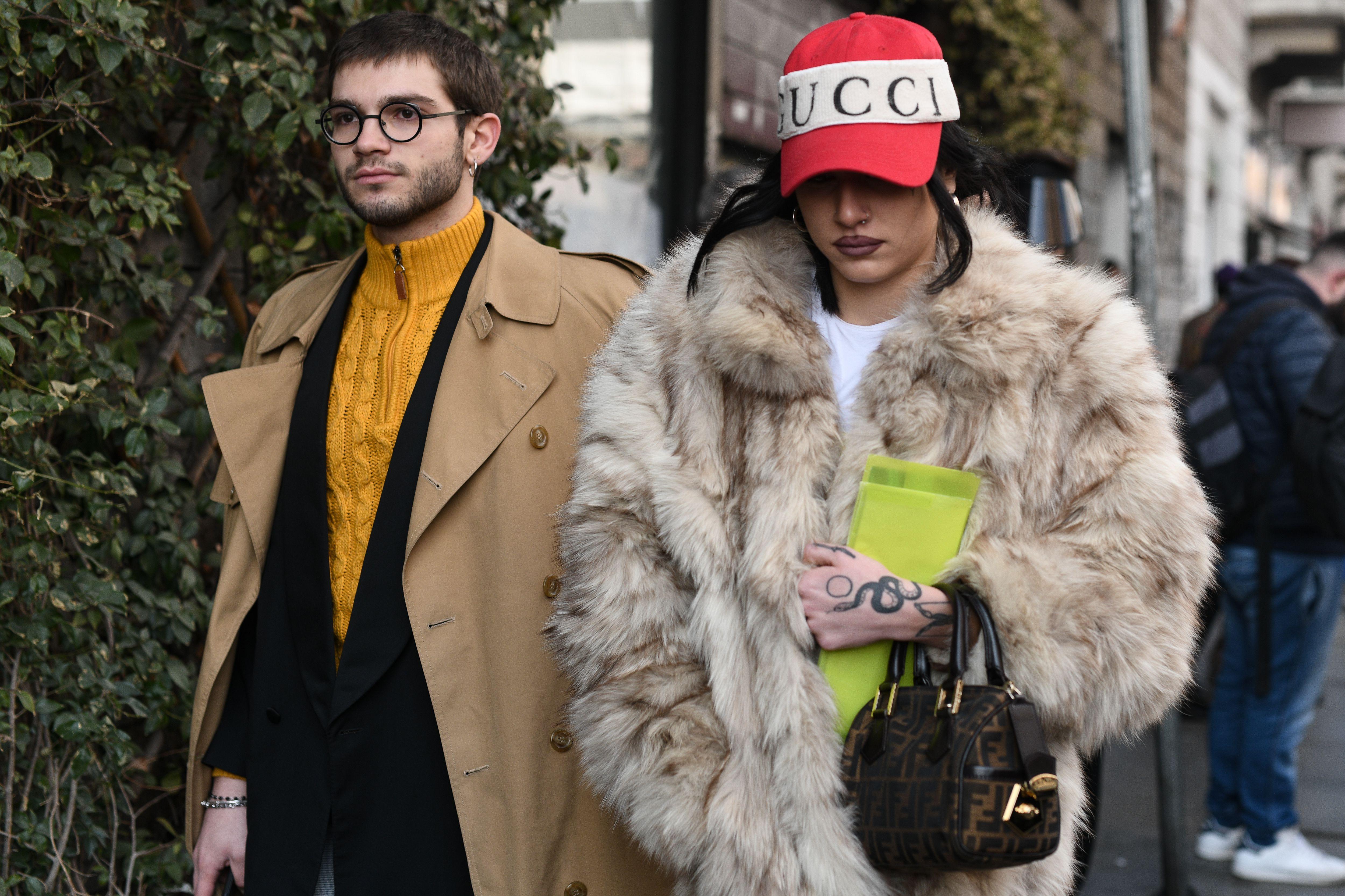 Street style outfitsStreet Style, Fall Winter 2019, Milan Fashion Week, Italy - 20 Feb 2019