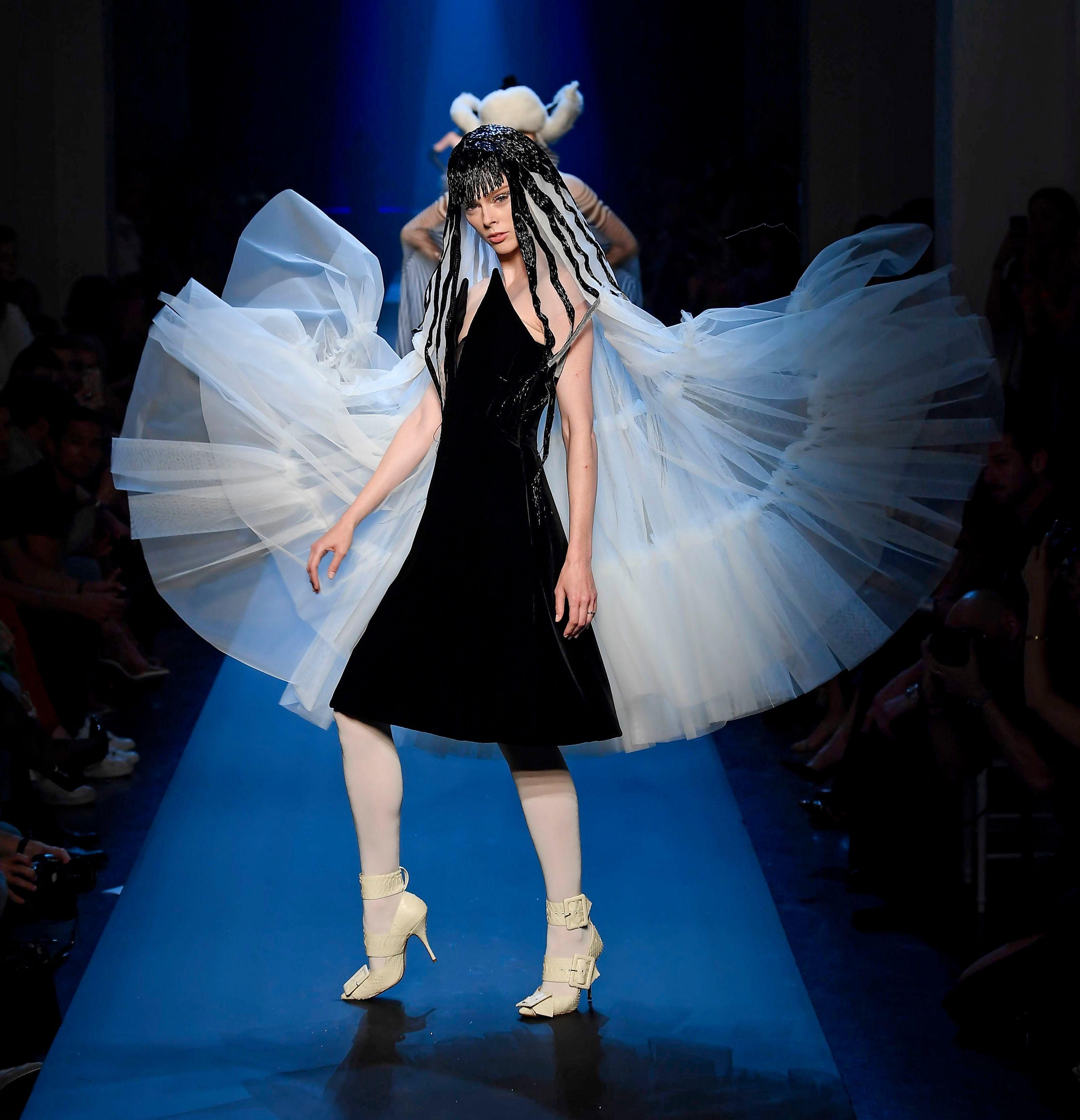 Coco Rocha on the catwalkJean Paul Gaultier show, Runway, Fall Winter 2019, Haute Couture Fashion Week, Paris, France - 03 Jul 2019