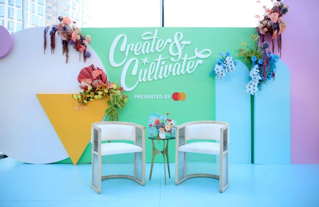 A view of the stageCreate and Cultivate Powered by Mastercard, San Francisco, California, USA - 21 Sep 2019Mastercard continues its mission to spotlight and inspire women small business owners across the nation through its ongoing partnership with Create & Cultivate.