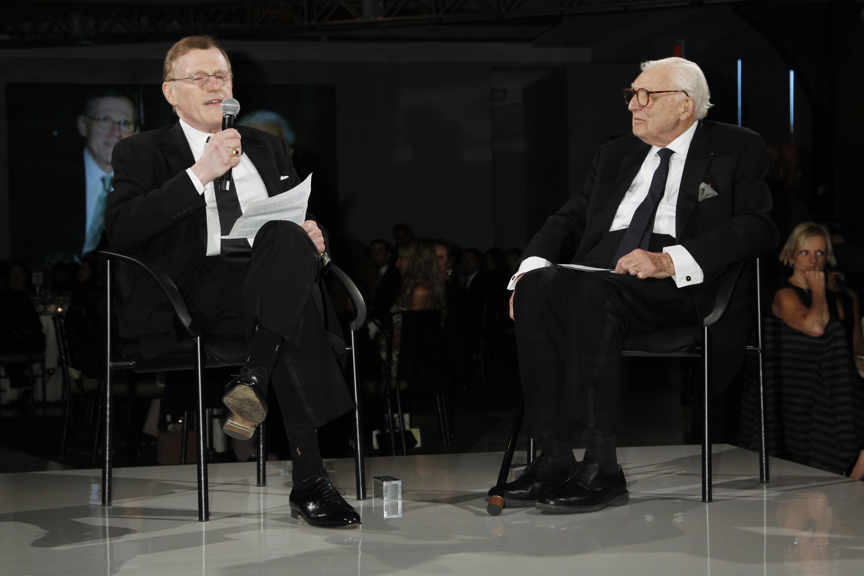 Arnold Aronson, Marvin TraubParsons 2011 Fashion Benefit, New York