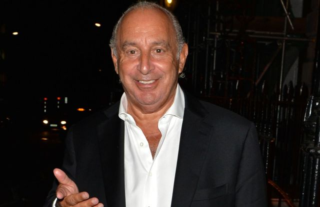 Sir Philip Green leaving Annabel'sSir Philip Green out and about, London, UK - 11 Jun 2018