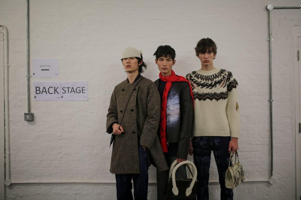 Backstage at Stefan Cooke Men's Fall 2020