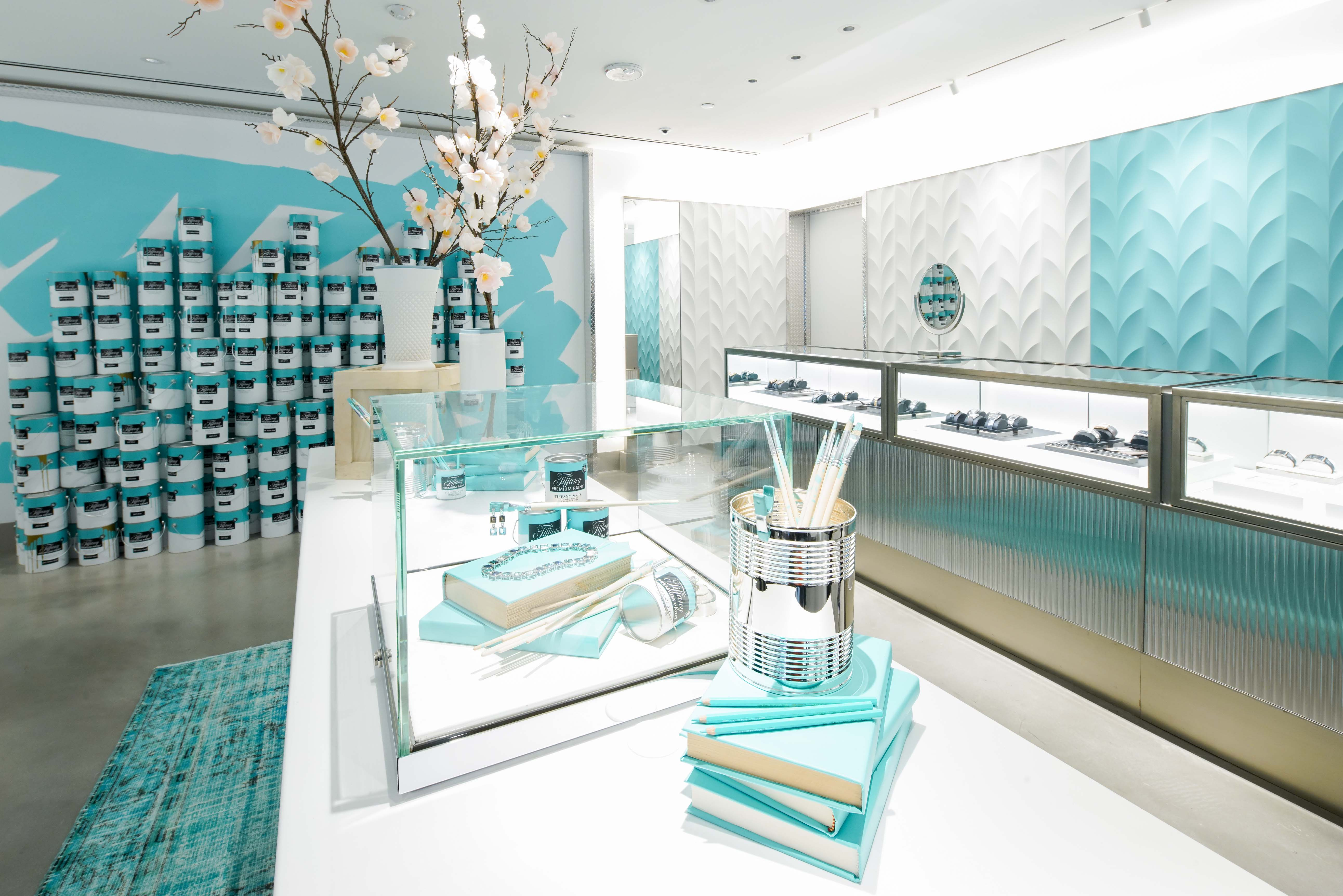 Tiffany's temporary flagship in New York.