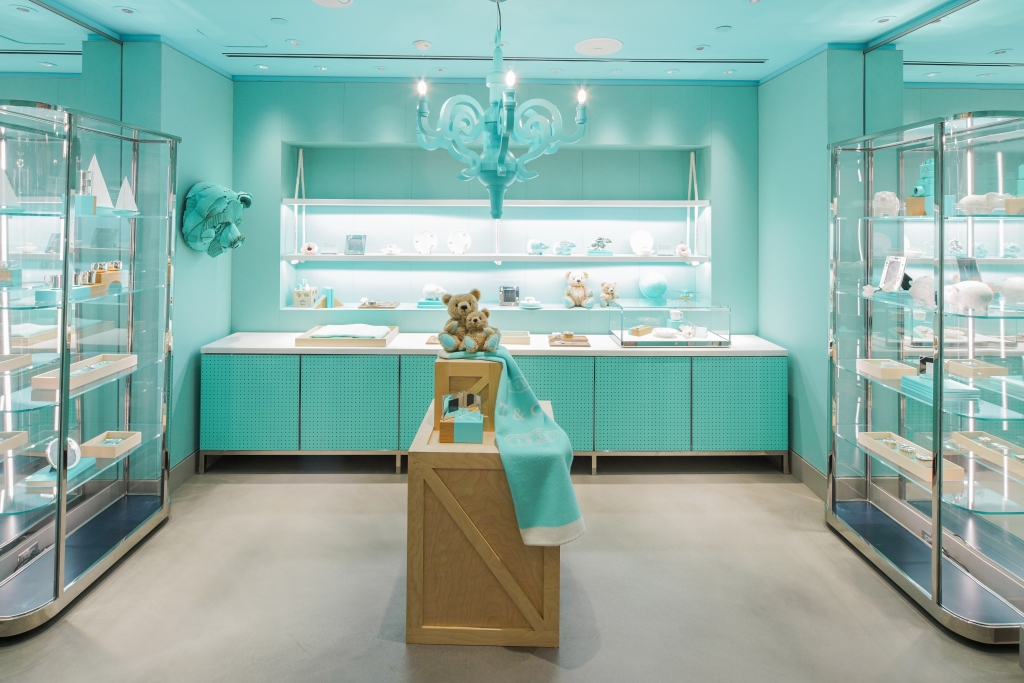 Tiffany's new temporary flagship in New York City.