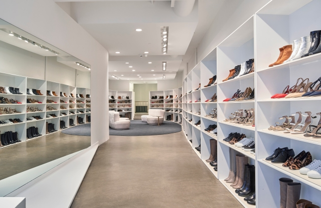 The new Tamara Mellon store at 97 Wooster Street aims to remove pain points for customers.