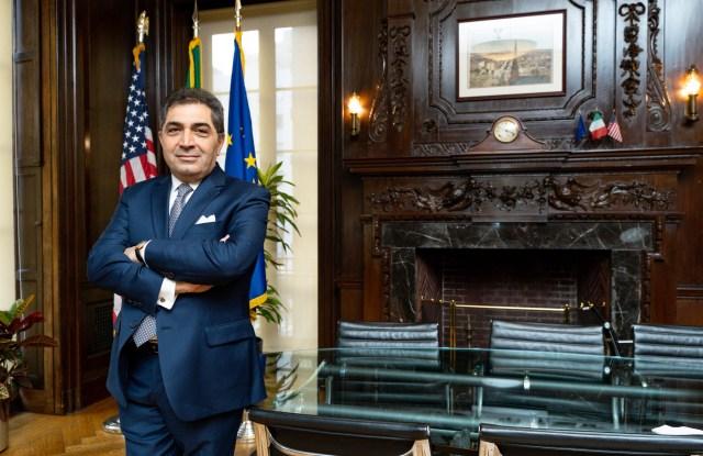 Antonino Laspina, U.S. Trade Commissioner from Italy