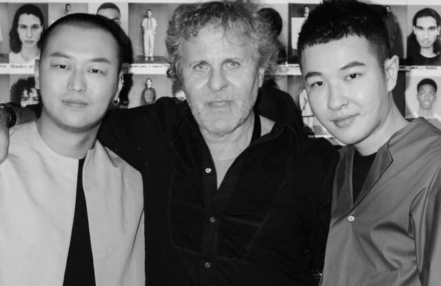 Yushan Li and Jun Zhou of Pronounce with Renzo Rosso
