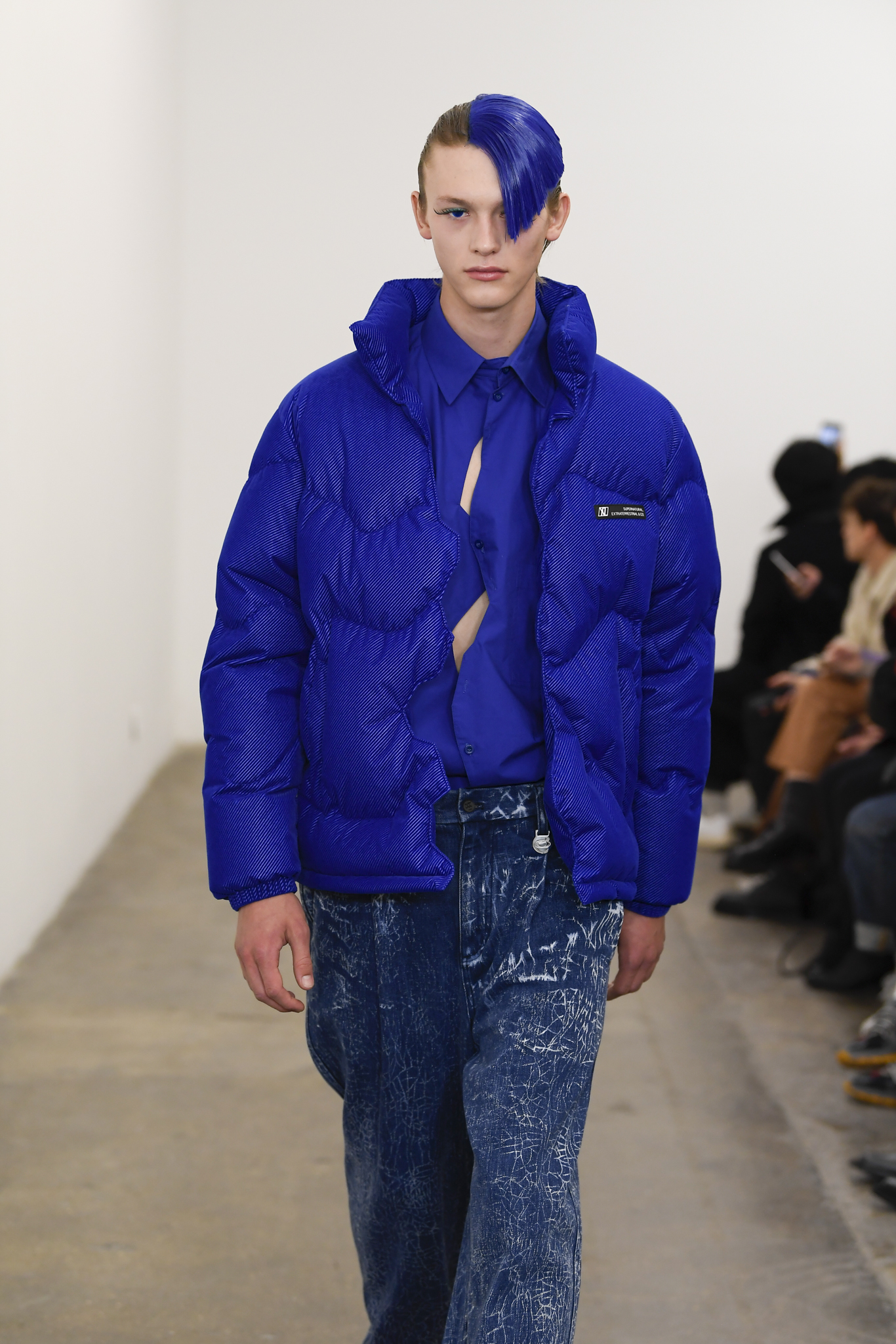 Xander Zhou LFW Men's Fall 2020, photographed in London on 05 January 2020