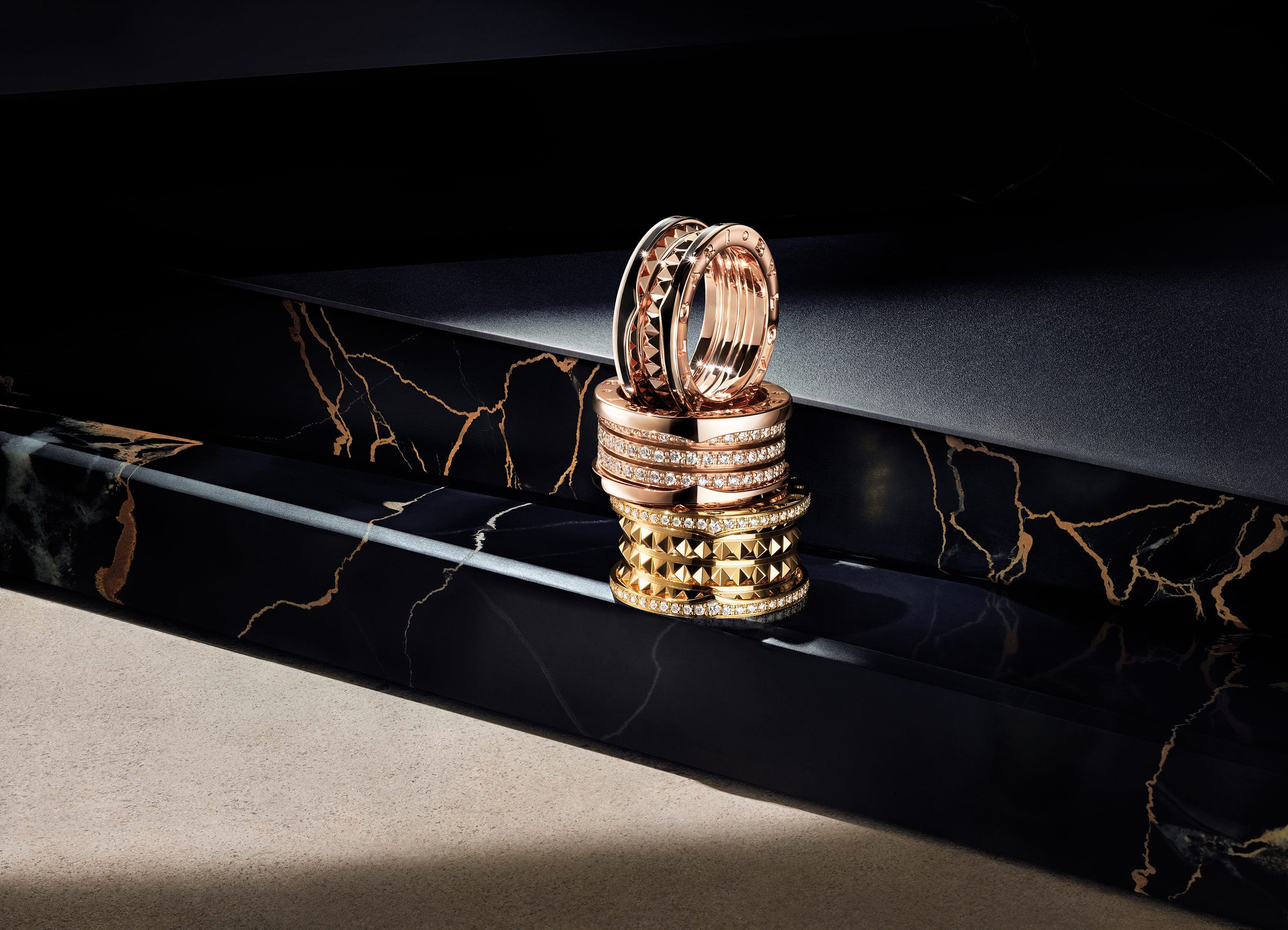 Bulgari's B.Zero1 Rock collection.