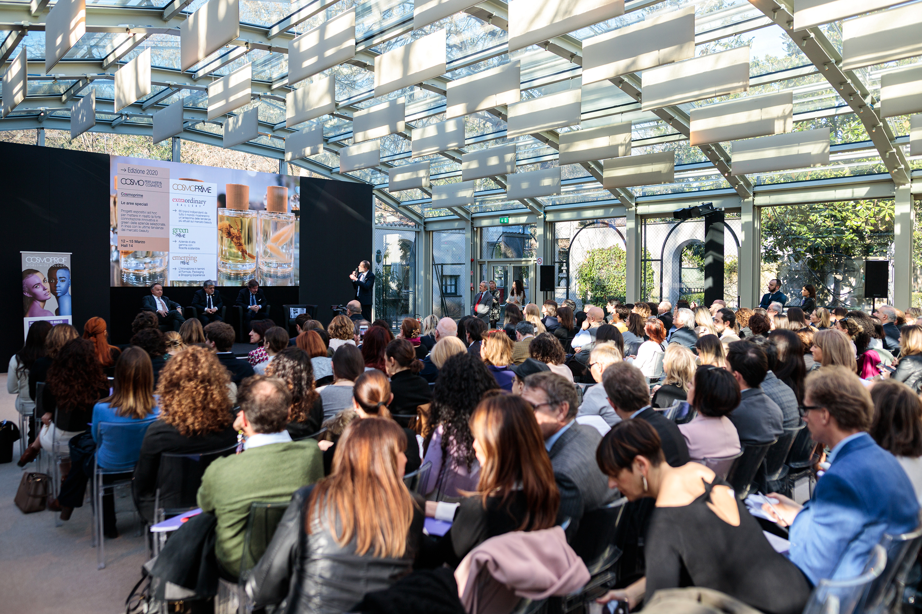 Cosmoprof Worldwide Bologna's press conference in Milan.