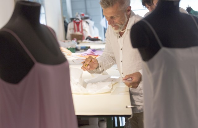 An artisan working at OTB.
