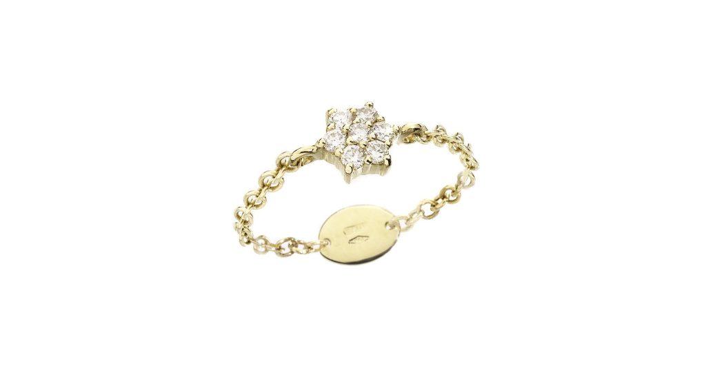 A ring from Alessandra Camilla Milano jewelry line.