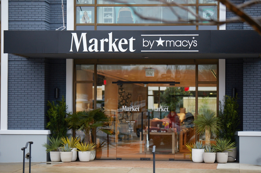 The first Market By Macy's in Southlake, Texas. Macy's is rolling out the format to other cities.