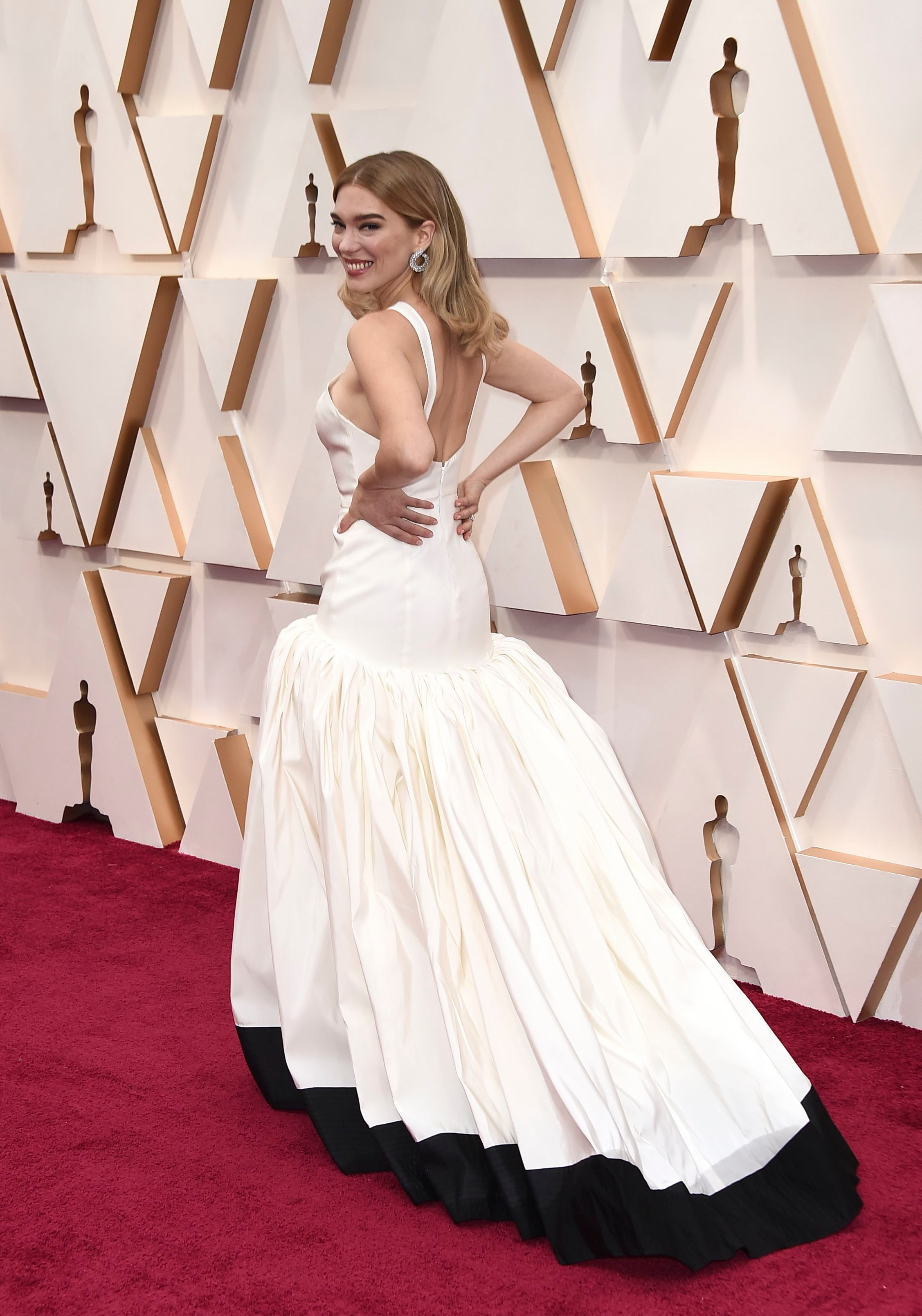 Lea Seydoux arrives at the Oscars, at the Dolby Theatre in Los Angeles92nd Academy Awards - Arrivals, Los Angeles, USA - 09 Feb 2020