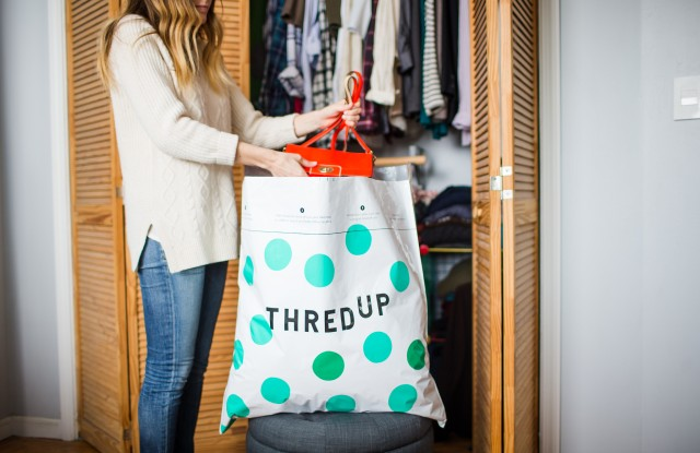 Consumers who earn shopping credits for unwanted items sent to ThredUp get inspired to fill their closets again, the resale site said.