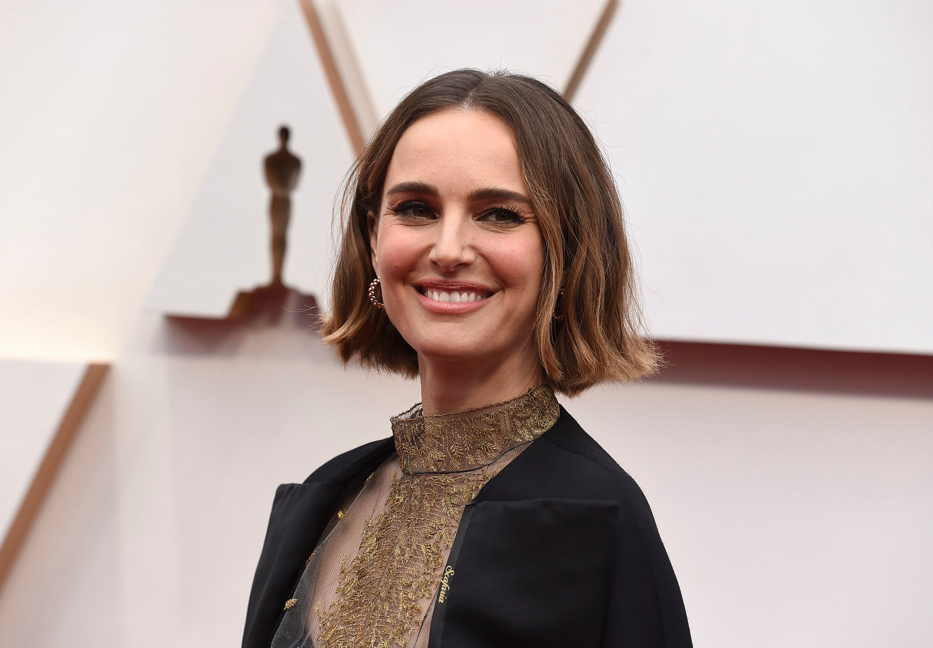 2020 Oscars Red Carpet: Natalie Portman's Hidden Message