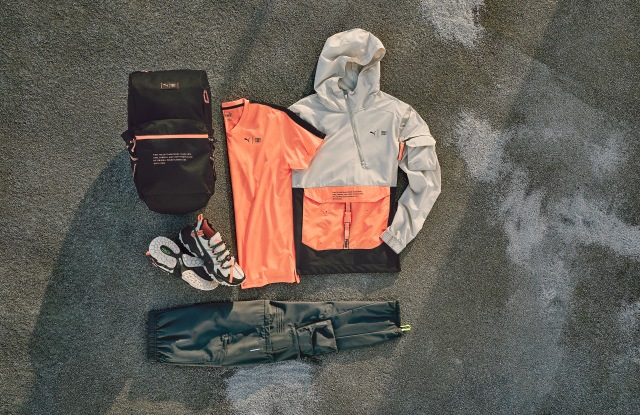 Selections from the Puma x First Mile collection.