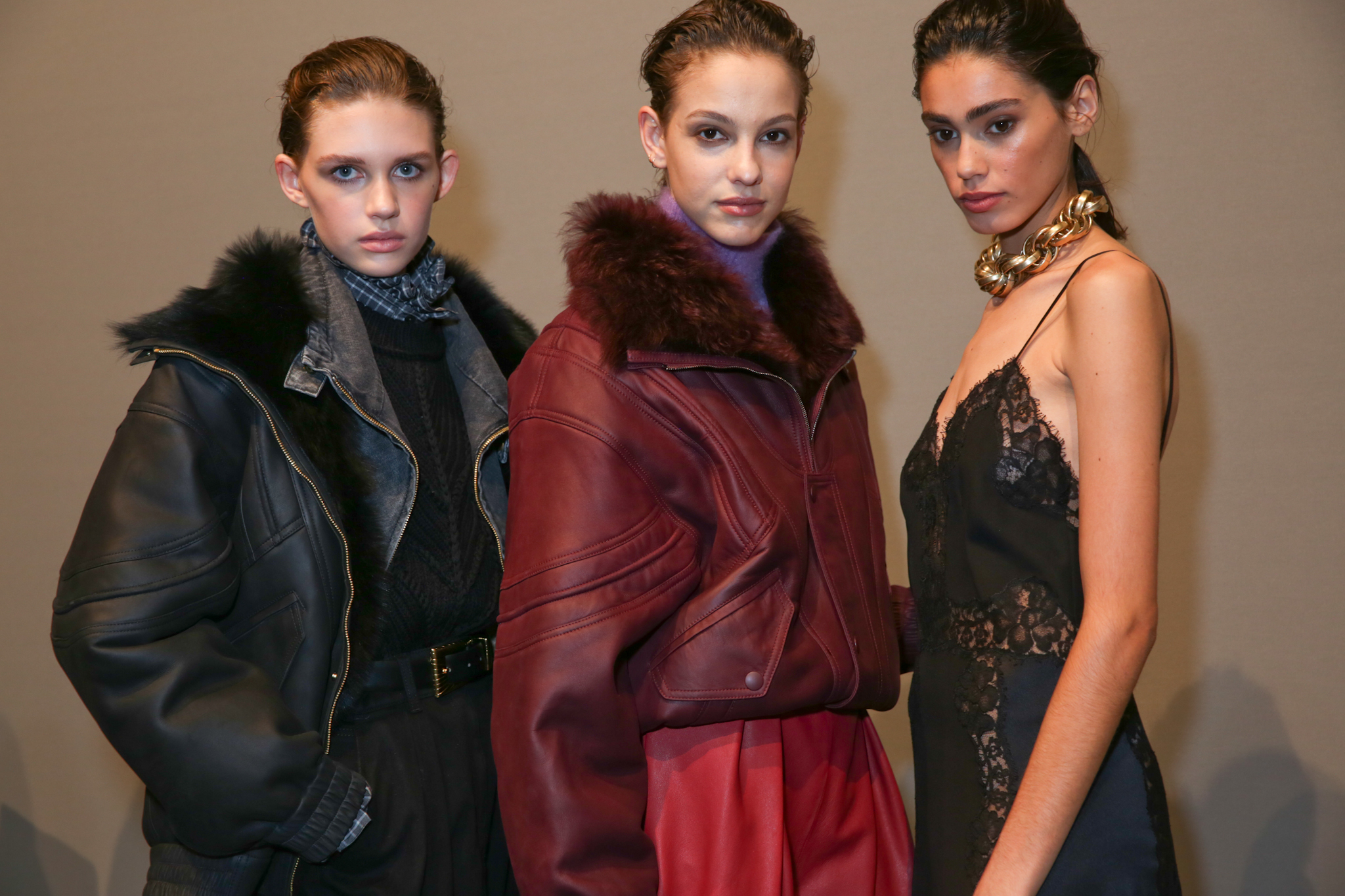 Backstage at Alberta Ferretti RTW Fall 2020