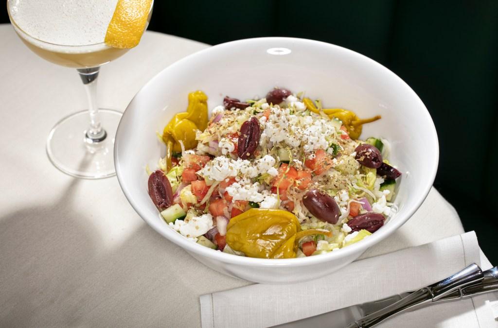 """The Greek"" salad at American Bar"