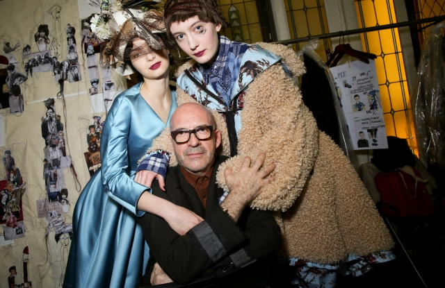 Backstage at Antonio Marras RTW Fall 2020