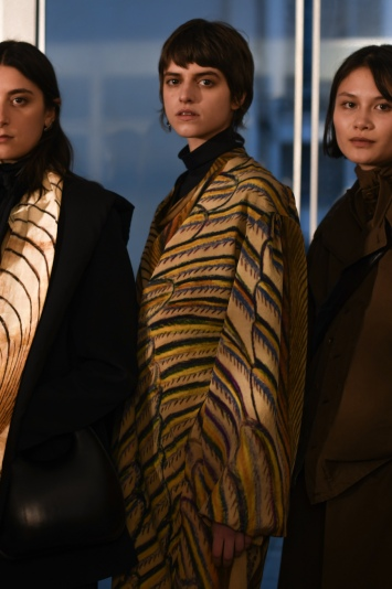 Backstage at Lemaire RTW Fall 2020