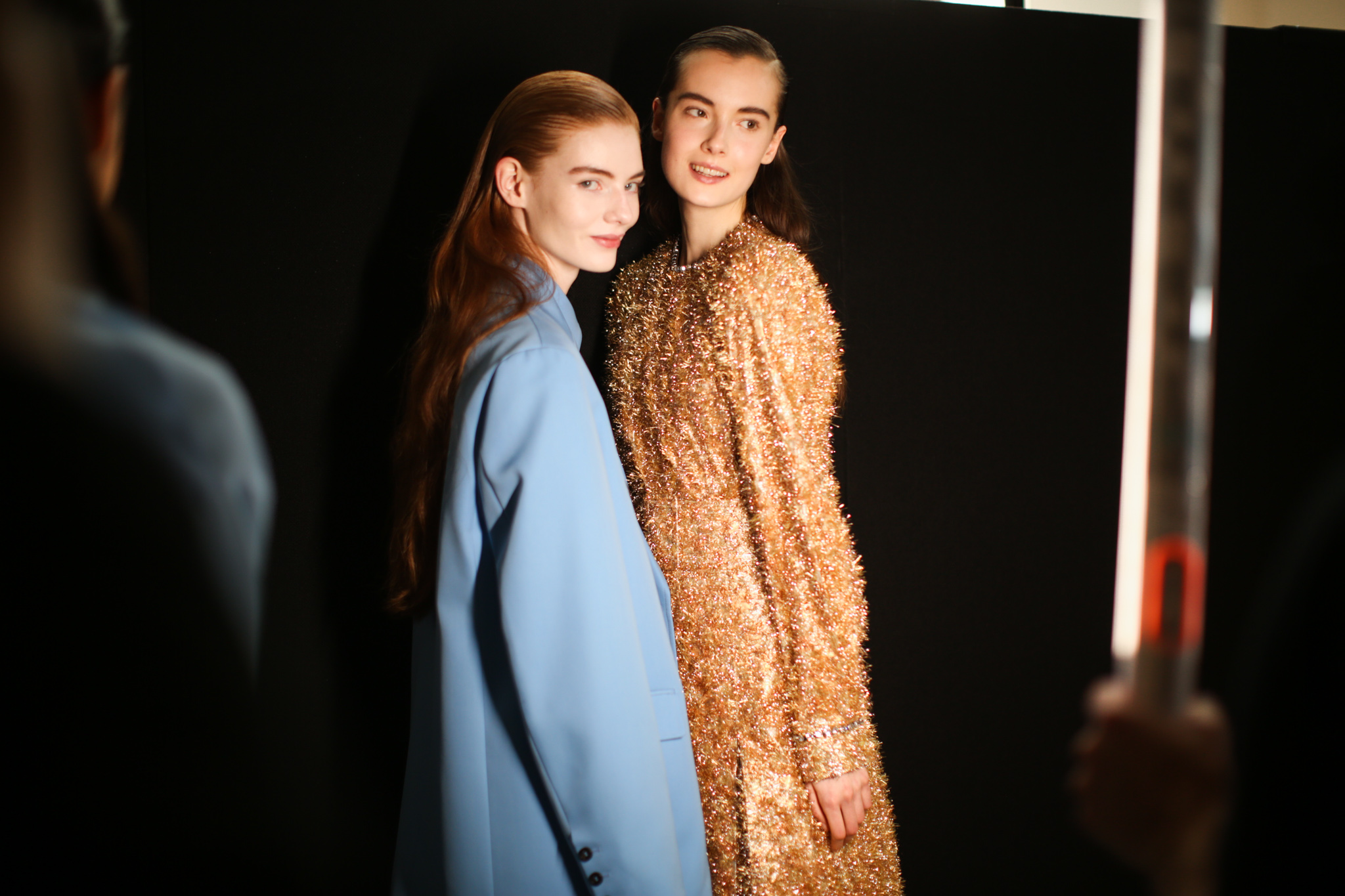 Backstage at Rochas RTW Fall 2020
